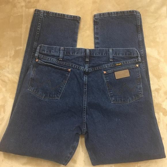 Wrangler Other - WRANGLER Mens 38 x 36 PREMIUM 13MWZDD Cowboy Jeans